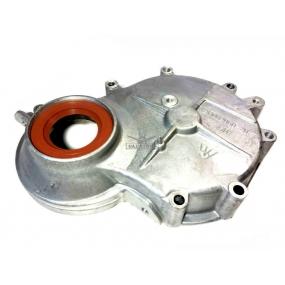 Крышка распределительных шестерен УМЗ 4215 с сальником (Газель - карбюраторный двигатель)