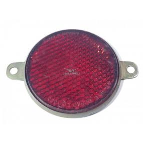 Световозвращатель круглый (с ушами) красный