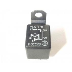 Реле 98.3777-10 /аналог 90.3747-10/ замыкающее 4-контактное с кронштейном (все типы автомобилей)