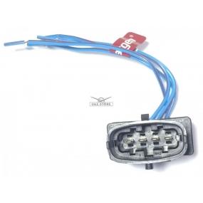 Разъём 4-ёх контактный с проводами - датчика кислорода Siemens (АХ-507)
